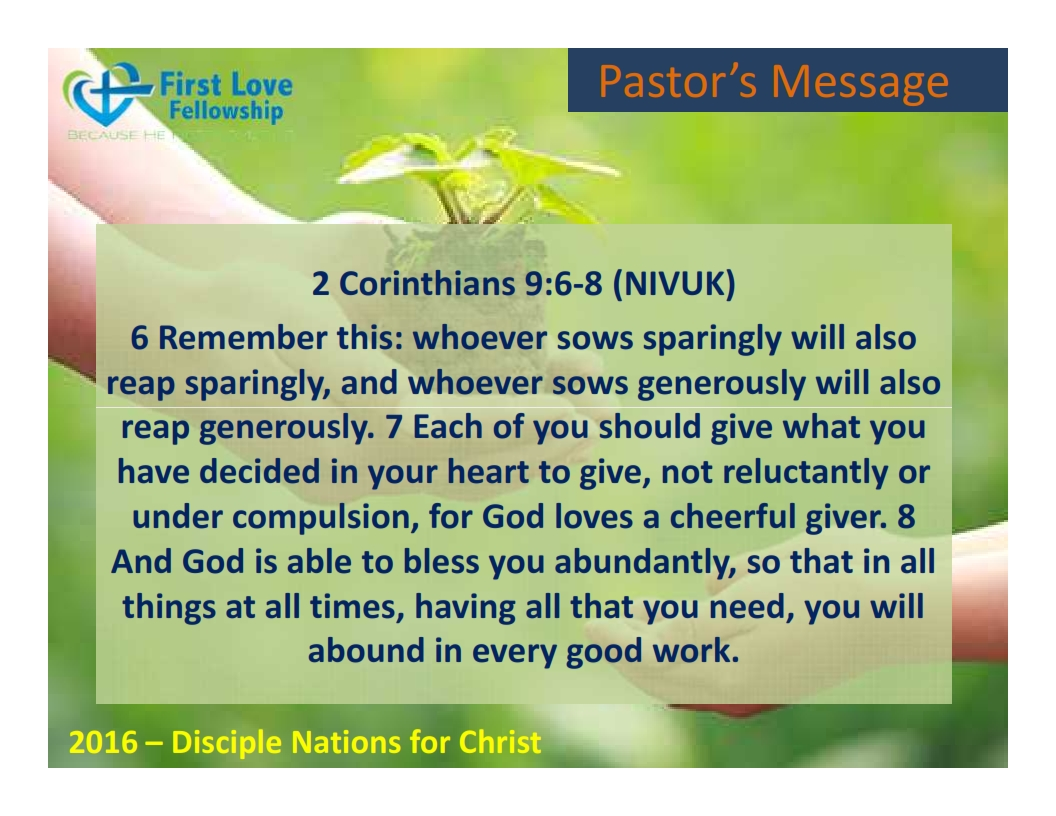 August 19, 2016 Gracious Giving - By Ps Beng_002