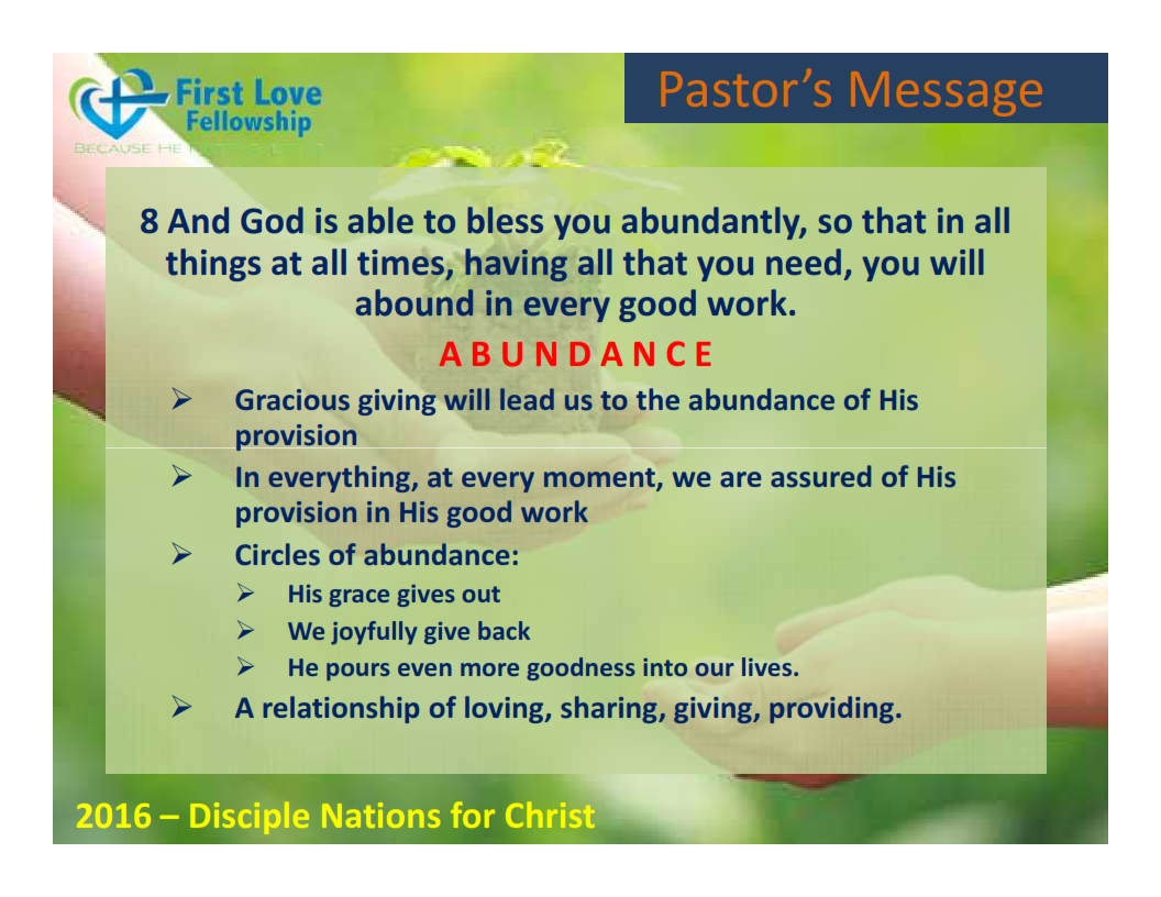 August 19, 2016 Gracious Giving - By Ps Beng_005