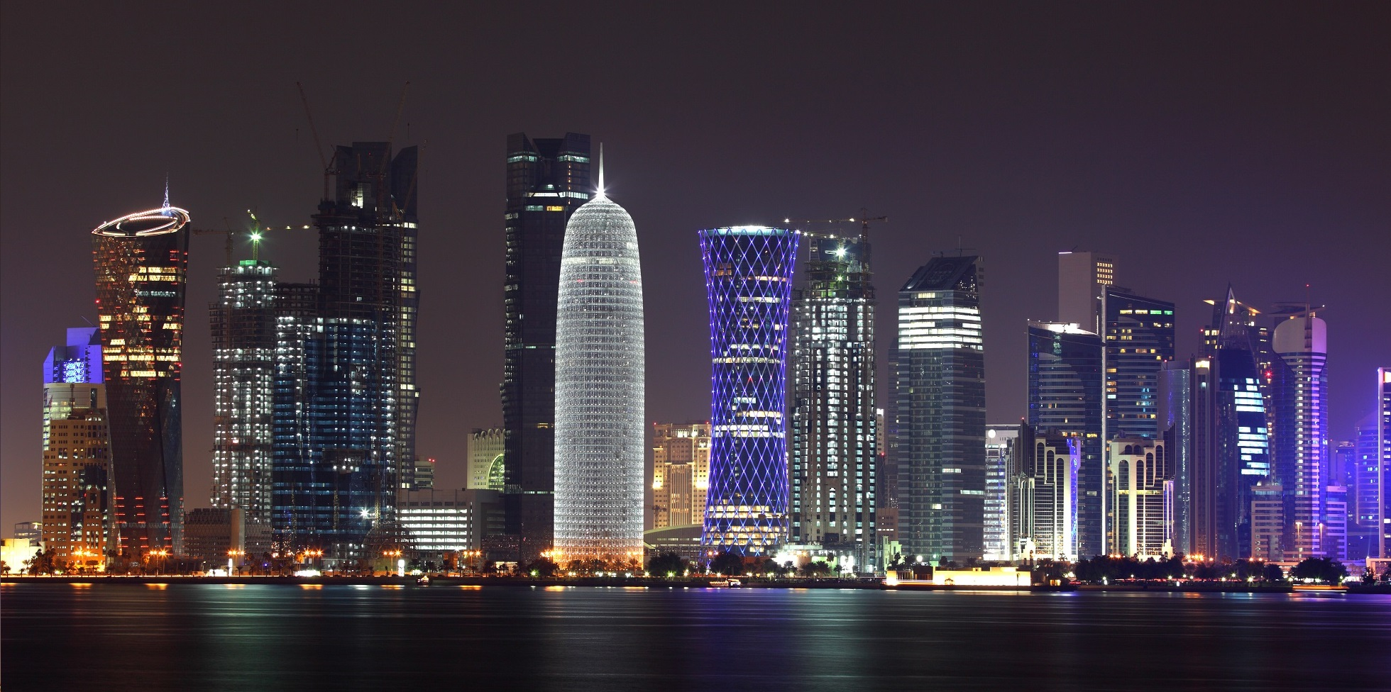 Doha-skyline-at-night-Qatar-Middle-East (cover) - Copy