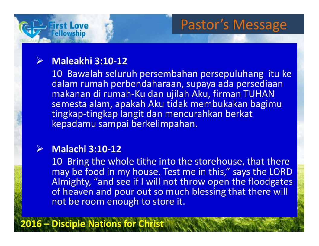 September 02, 2016 Faithful and Cheerful Giver - By Ps Beng and Lydia Dialdestoro_003