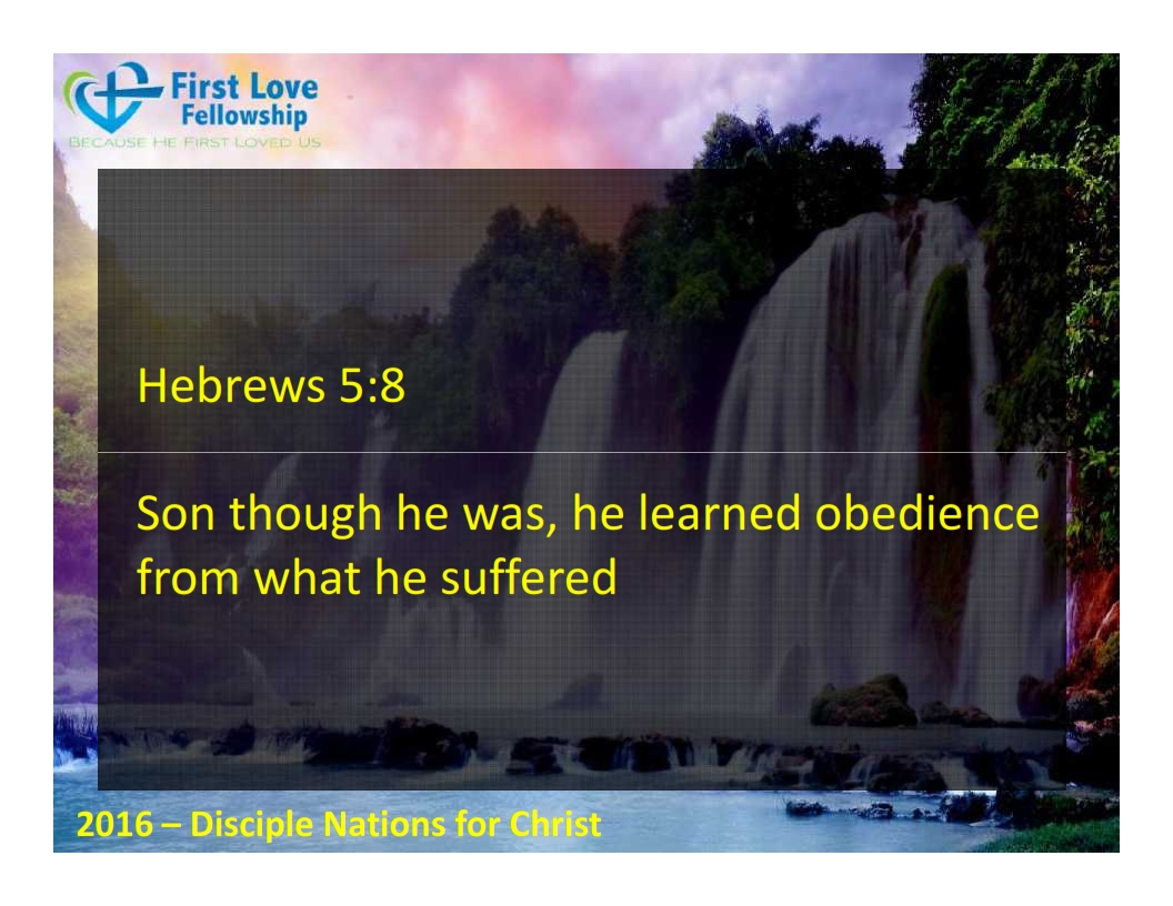September 23, 2016 Learn to be obedient - By Ps Beng_002