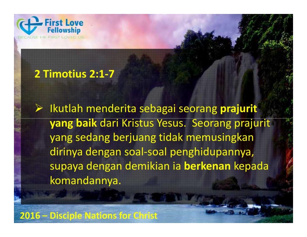 September 30, 2016 Ketaatan Selalu Membawa Berkat - Oleh Ps Beng_003